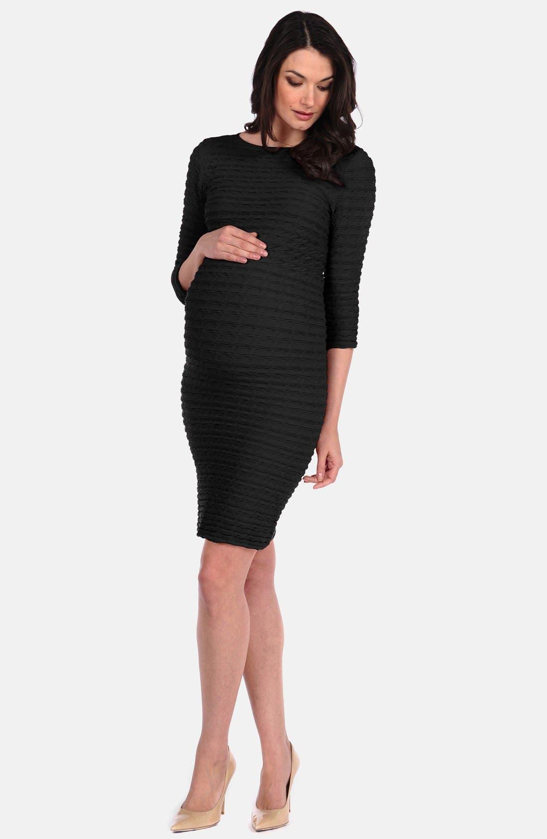 Tees By Tina U0027Crinkleu0027 Maternity Dress