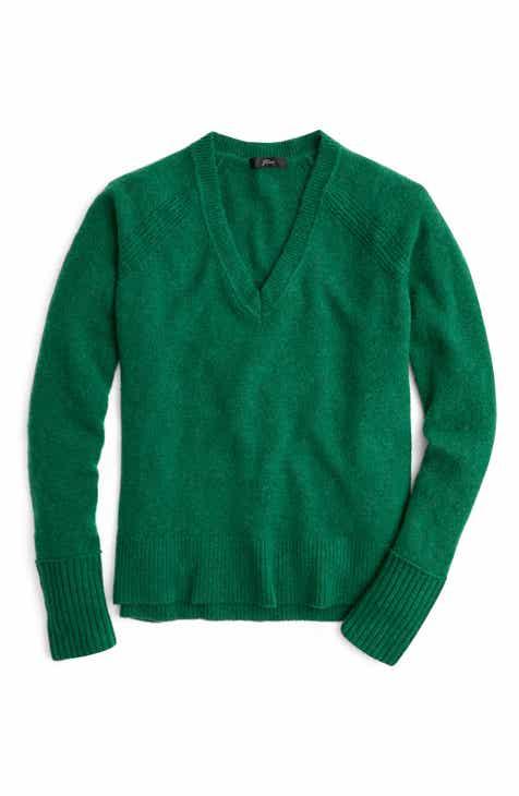 5d3a04852e J.Crew Supersoft Yarn V-Neck Sweater (Regular   Plus Size)