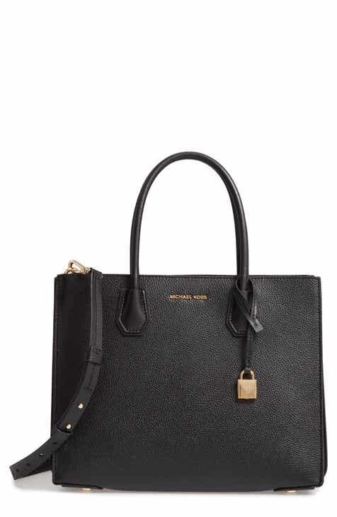 9ed65a9f2c96db Leather Michael Kors Handbags - Foto Handbag All Collections ...