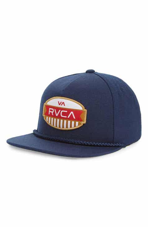 be355d296a RVCA Grill Snapback Cap