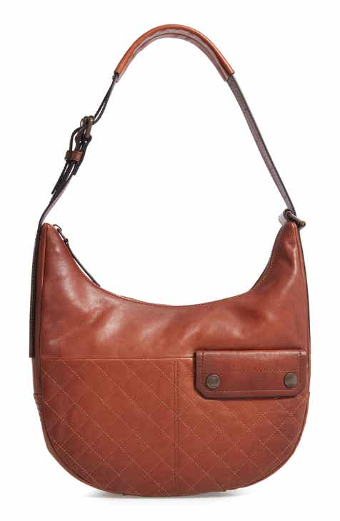 Frye Samantha Quilted Hobo Bag