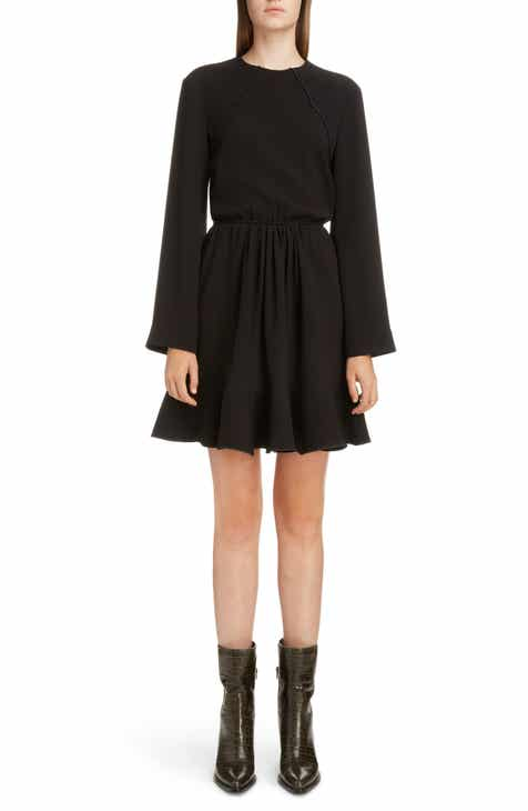 Chloé Scallop Detail Minidress