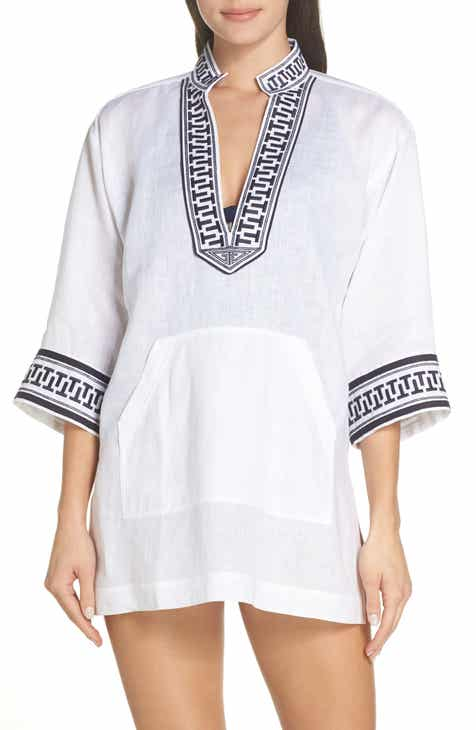 4351dd26eb4 Tory Burch Embroidered Cover-Up Tunic