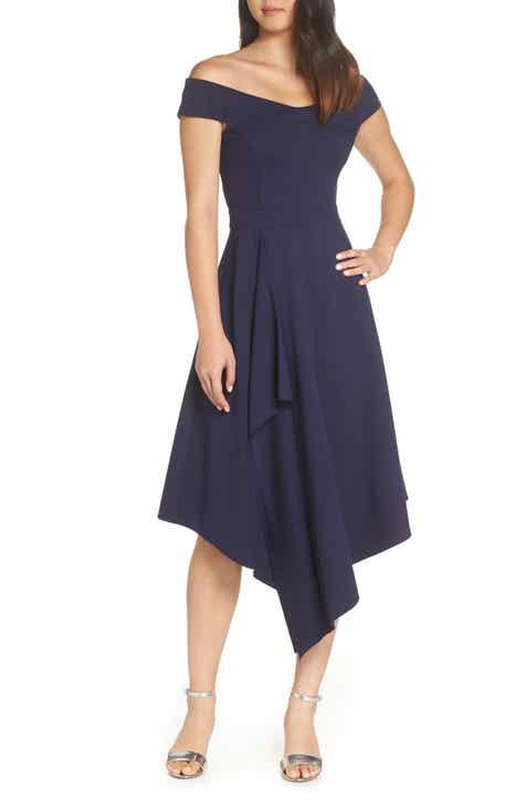 86493bf85208 Harlyn Off the Shoulder A-Line Dress