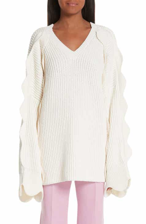 Stella McCartney Scallop Oversize Sweater by STELLA MCCARTNEY