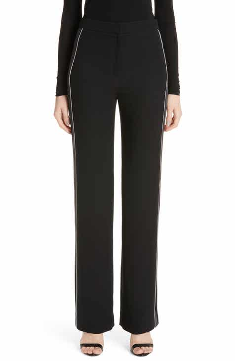 St. John Collection Solid Heavy Georgette Pants by ST. JOHN COLLECTION