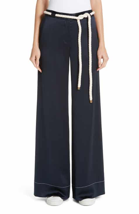 MONSE Rope Belt Satin Trousers by MONSE