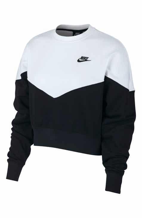 Nike Sportswear Heritage Fleece Sweatshirt 5b620e9465