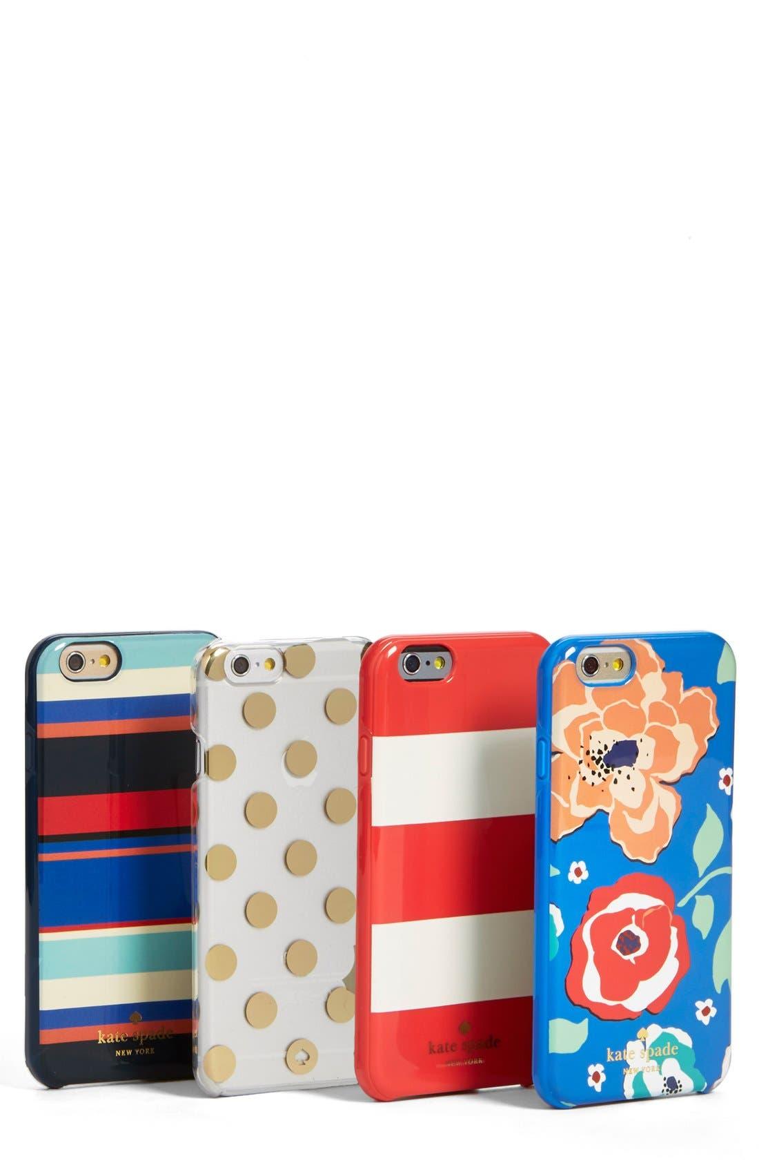 Alternate Image 3  - kate spade new york 'tropical stripe' iPhone 6 case