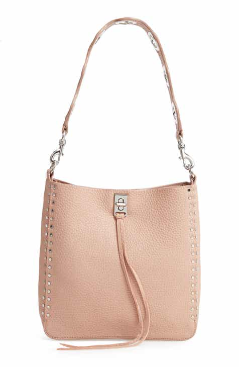 495cd2864684 Rebecca Minkoff Small Studded Leather Feed Bag