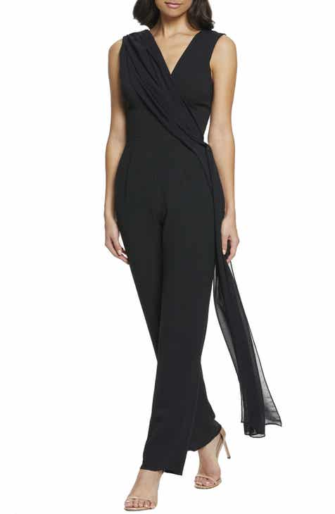 482e956a94a Dress the Population Robbie Drape Jumpsuit (Nordstrom Exclusive)