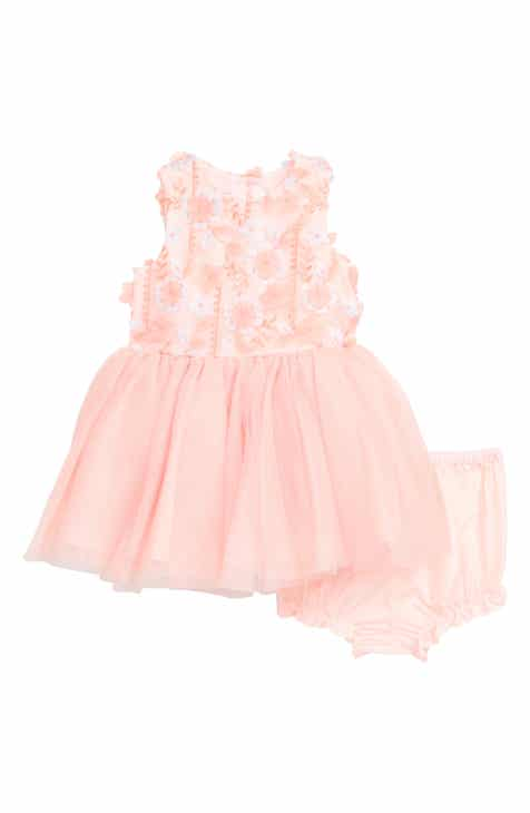 2a4346d3b4 Pippa   Julie Embroidered Fit   Flare Dress (Baby)