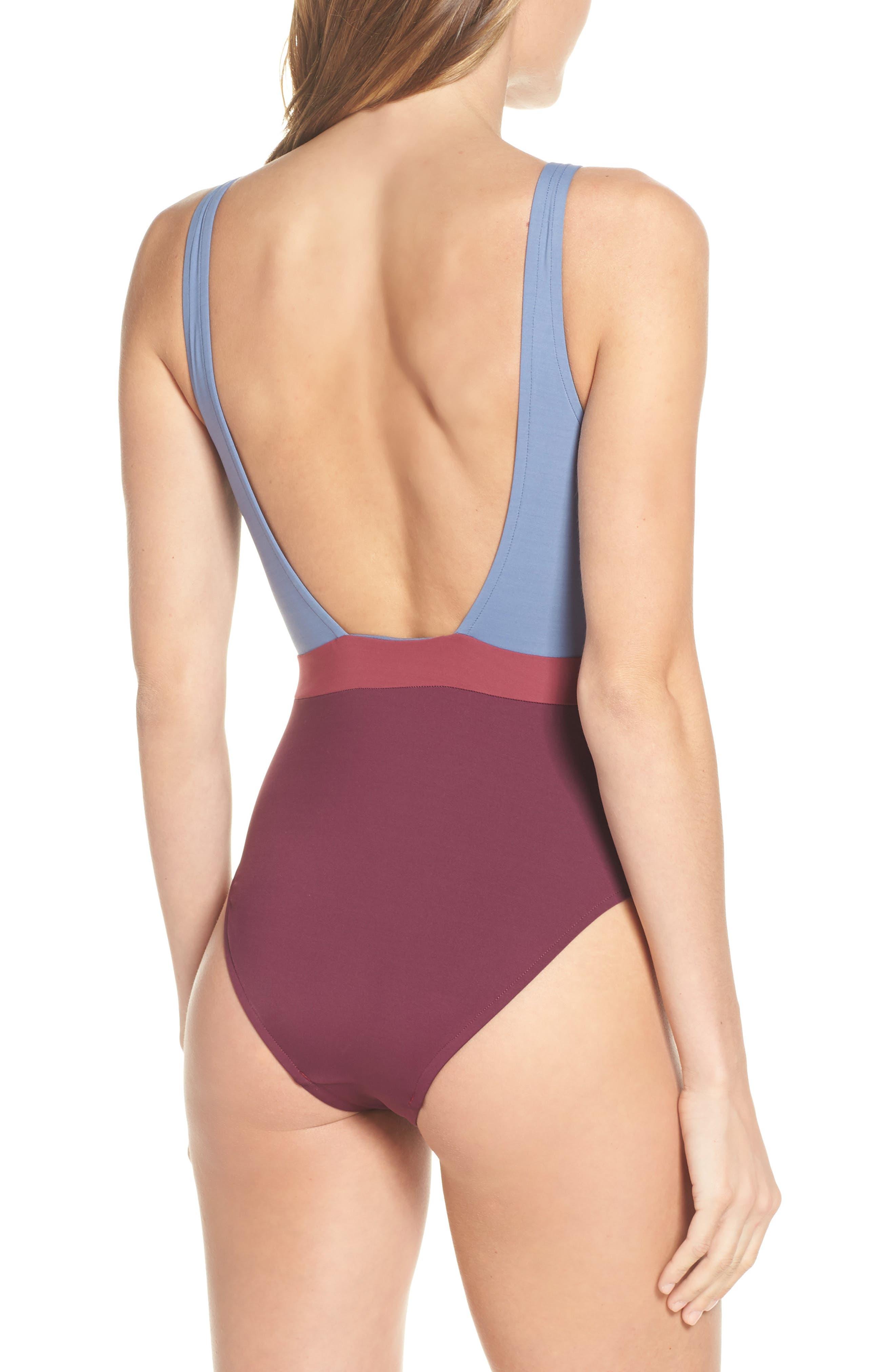 7b4fccdbbb4b Women s Grey One-Piece Swimsuits