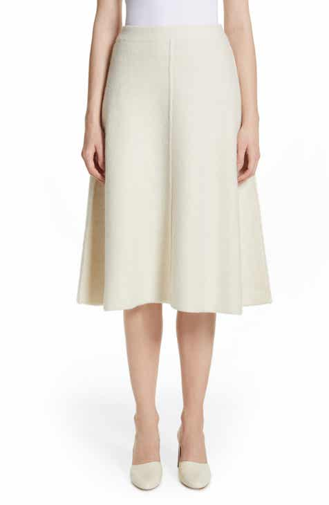 Co A-Line Alpaca & Wool Skirt by CO