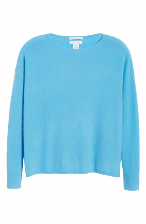 Nordstrom Signature Cashmere Ribbed Pullover by NORDSTROM SIGNATURE