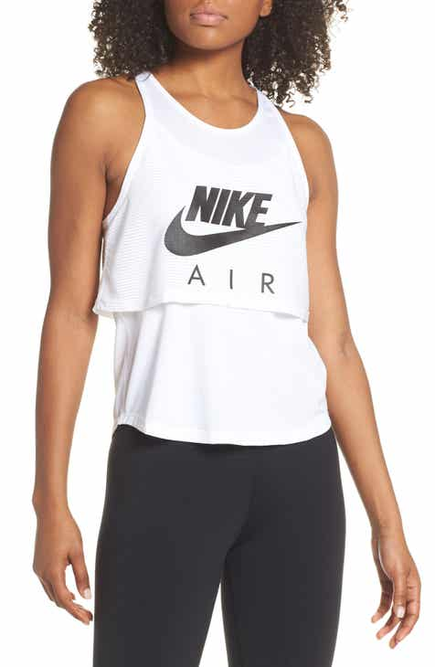 b17870d9333255 Nike Air Layered Graphic Running Tank