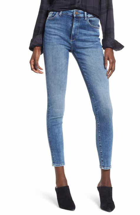 DL1961 Farrow High Waist Ankle Skinny Jeans (Palmas) by DL 1961