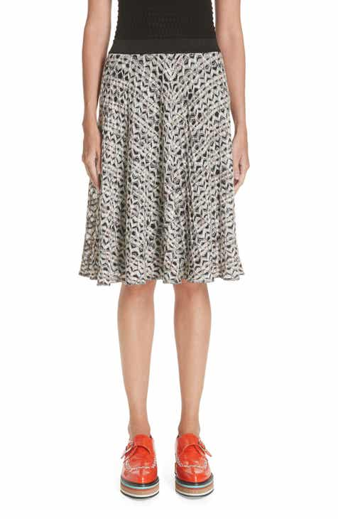 Missoni Zig Zag A-Line Skirt (Nordstrom Exclusive) by MISSONI