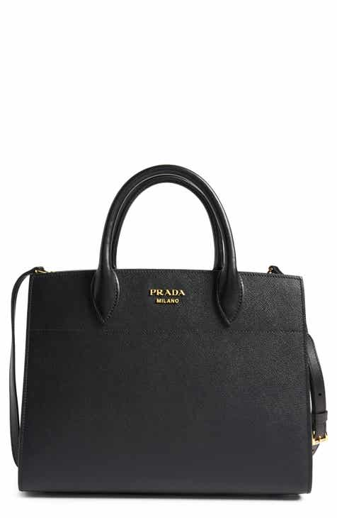 0c3ef088c2df Prada Large Accordia Saffiano   City Calfskin Leather Tote