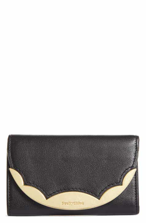 See by Chloé Brady Compact Leather Wallet 3c3747d72a1