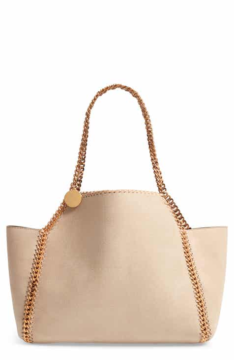 bceee85ee3a0 Stella McCartney Shaggy Deer Reversible Faux Leather Tote