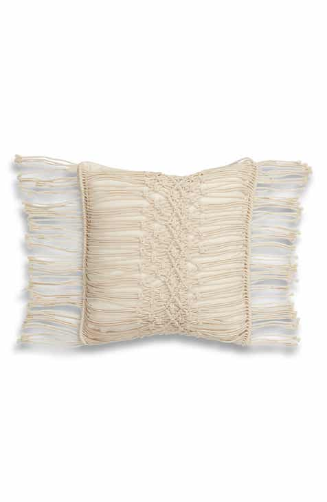 d86778655558af Levtex Ayla Macramé Accent Pillow