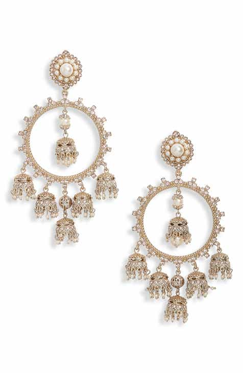 Marchesa Orbital Chandelier Earrings