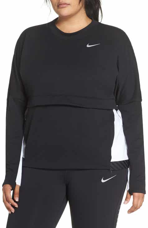 fc174392223 Nike Therma Sphere Training Top (Plus Size)