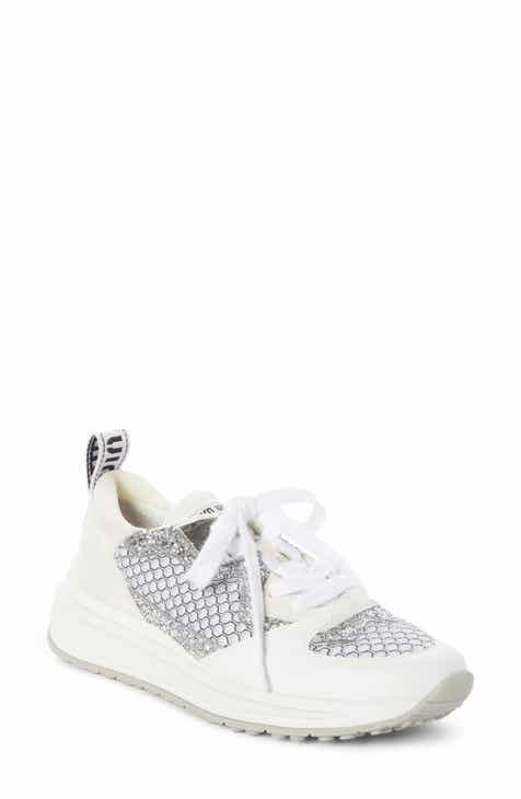 a2de2d4eda70 Miu Miu Mesh Glitter Sneaker (Women)