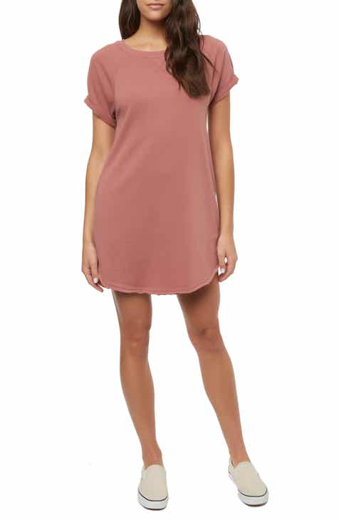 O Neill Morganne Fleece Sweatshirt Dress 5a3cc3fd1e