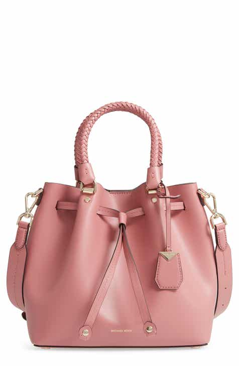ed55c773c32 MICHAEL Michael Kors Blakely Leather Bucket Bag