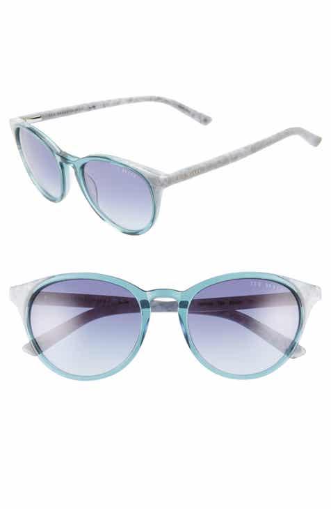 15605db172 Ted Baker London 52mm Gradient Cat Eye Sunglasses