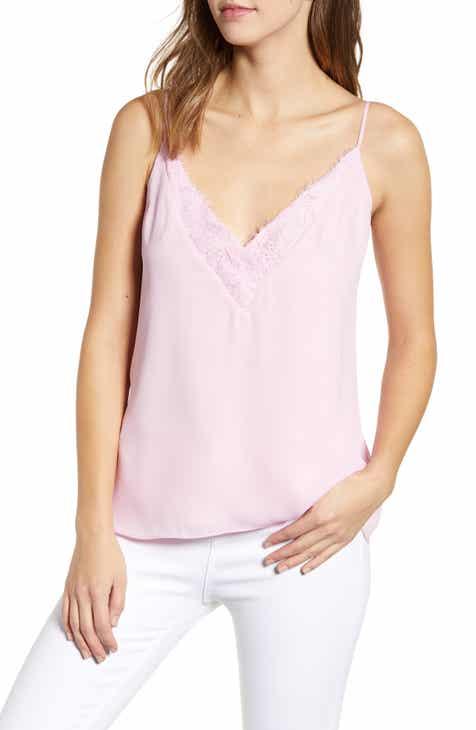 1d75198a57526 Socialite Lace Trim Camisole Top