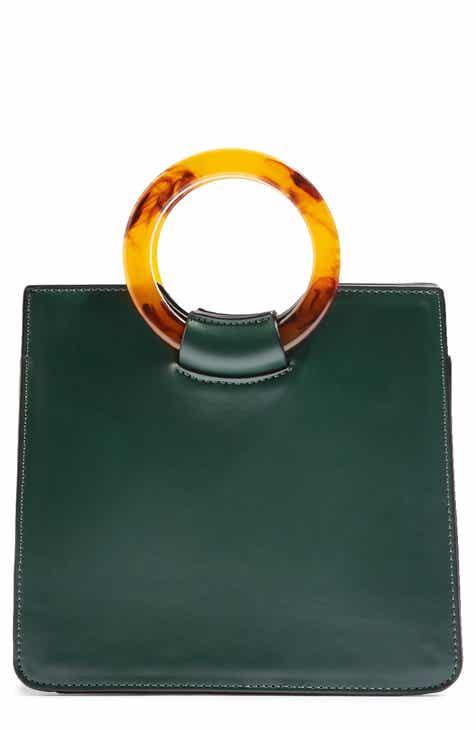 20c5dc152a Topshop Mini Adele Faux Leather Top Handle Bag