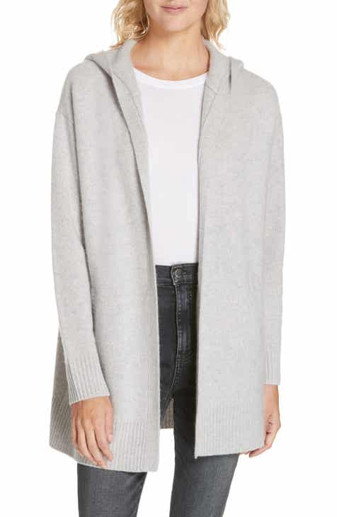 Nordstrom Signature Hooded Boiled Cashmere Cardigan 31859566e