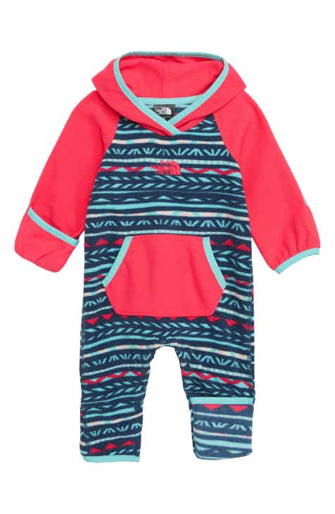 58ddb26407e The North Face Glacier Fleece One-Piece (Baby)