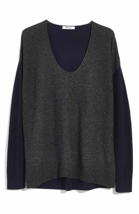85423001a82 Madewell Kimball Colorblock Sweater (Regular   Plus Size)