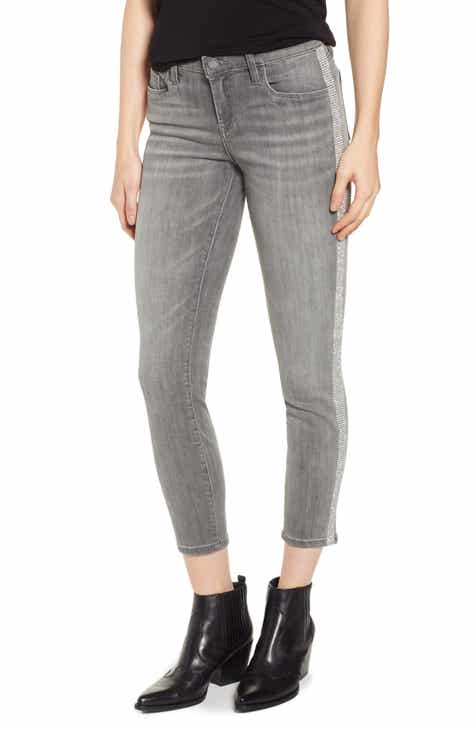 TRAVE Irina High Waist Slim Cuff Jeans (Longview) by TRAVE