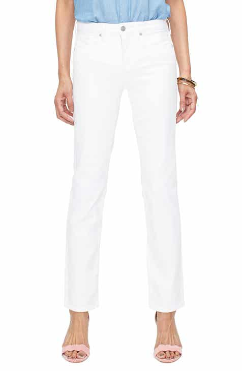 d0793c9f9bc NYDJ Sheri Slim Jeans (Optic White)