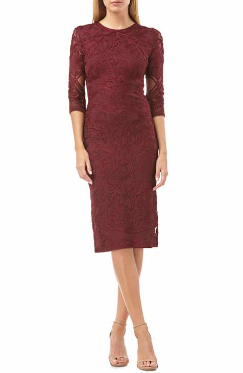 3e1afcb7662 JS Collections Soutache Sheath Dress