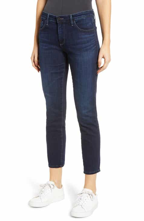 1822 Denim Butter High Rise Skinny Ankle Jeans (Raquel) by 1822 Denim