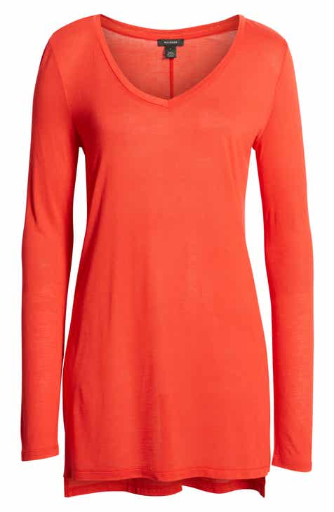 c06ae1a41 Halogen® Long Sleeve Lightweight Tunic