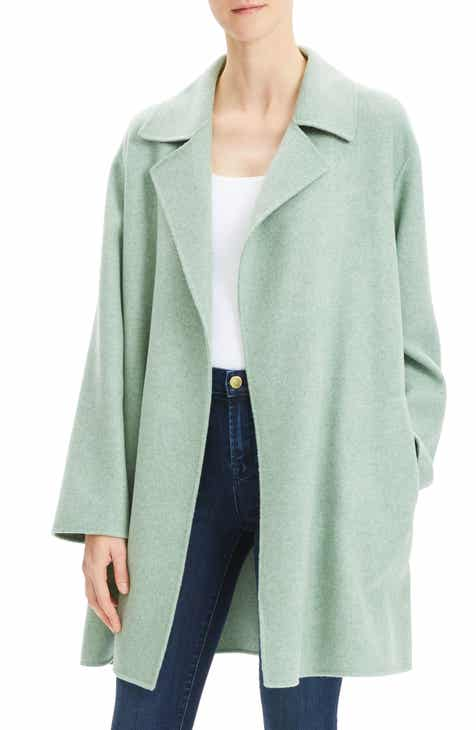 6dd0495c8a3 Theory Double Face Mélange Coat