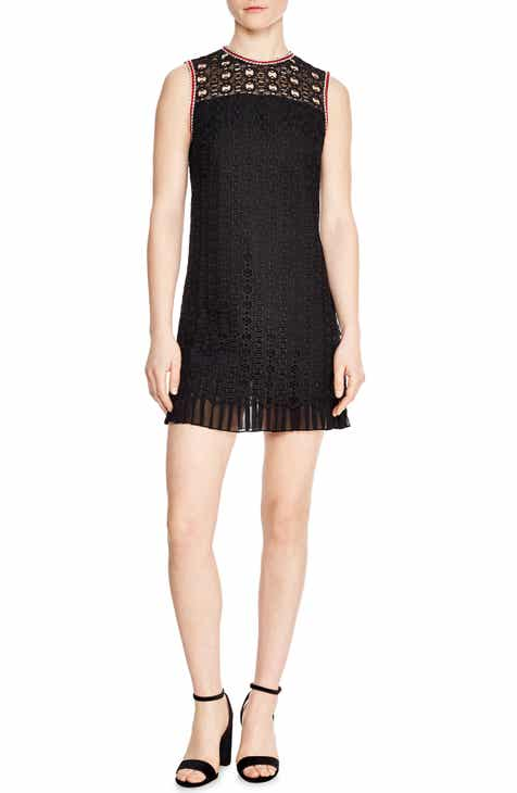 sandro Franck Crochet Shift Dress by SANDRO