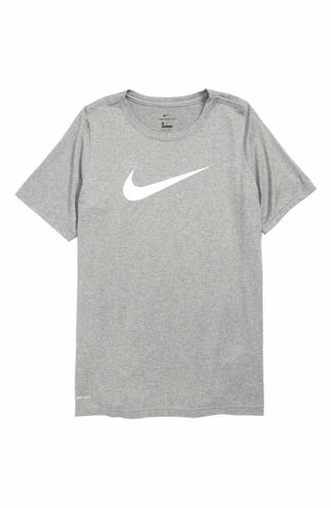 618e9ababe Nike Dry Swoosh T-Shirt (Little Boys   Big Boys)