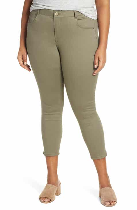 Gucci Stretch Cady Skinny Flare Pants by GUCCI