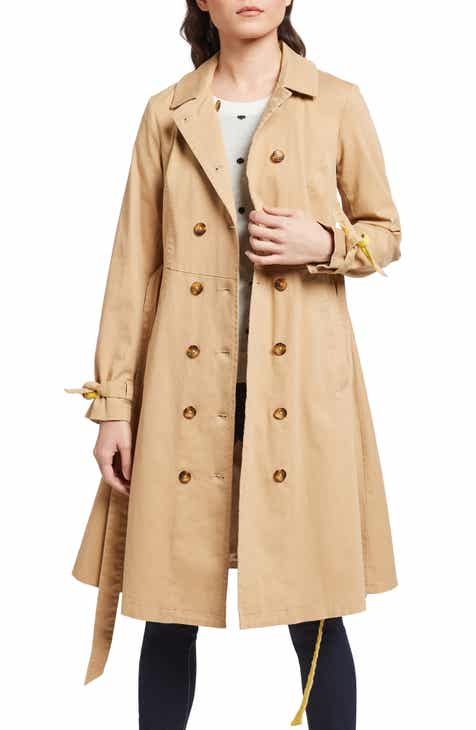 eb03bd95aa8 ModCloth Contrast Belt Trench Coat (Regular   Plus Size)