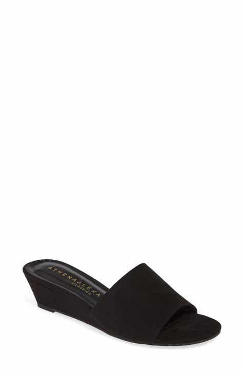 26e9b9305acef9 Athena Alexander Wheeler Wedge Slide Sandal (Women)