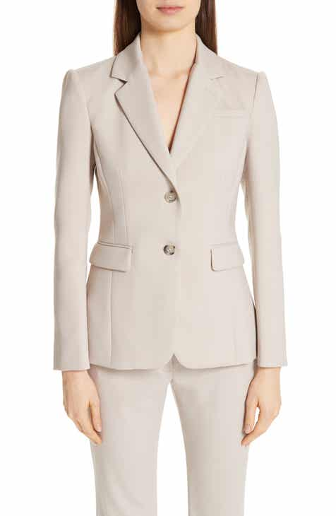 Altuzarra Fitted Two-Button Stretch Wool Blazer by ALTUZARRA
