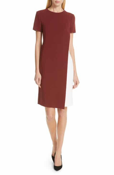 BOSS Dularis Colorblock Shift Dress by BOSS HUGO BOSS